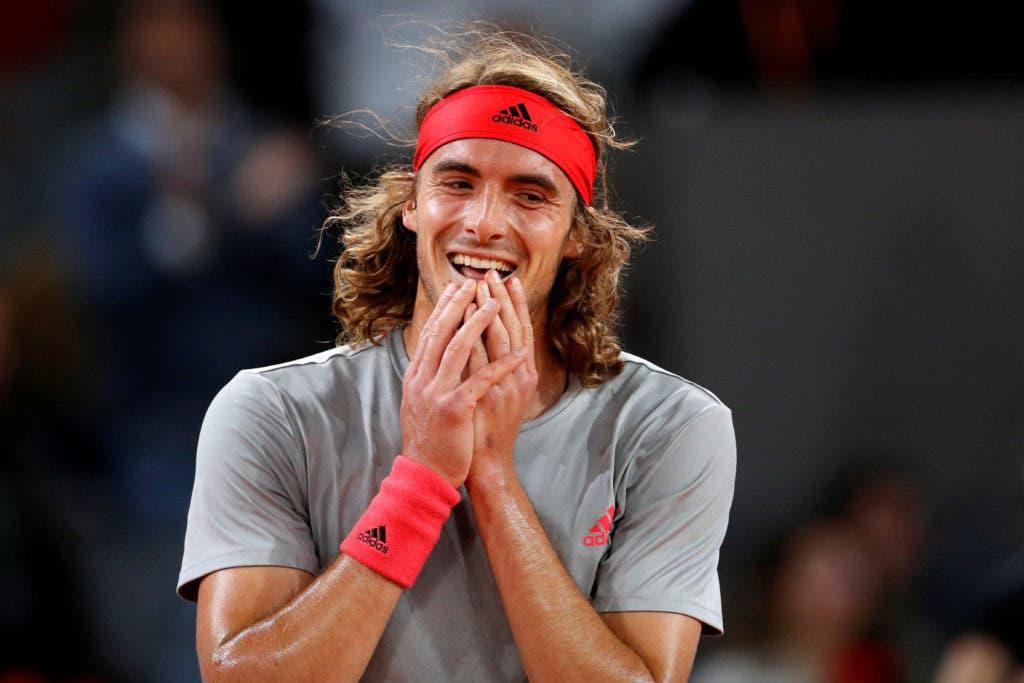 Rusedski rendido ao talento de Tsitsipas: «Lembra-me o Federer em jovem»