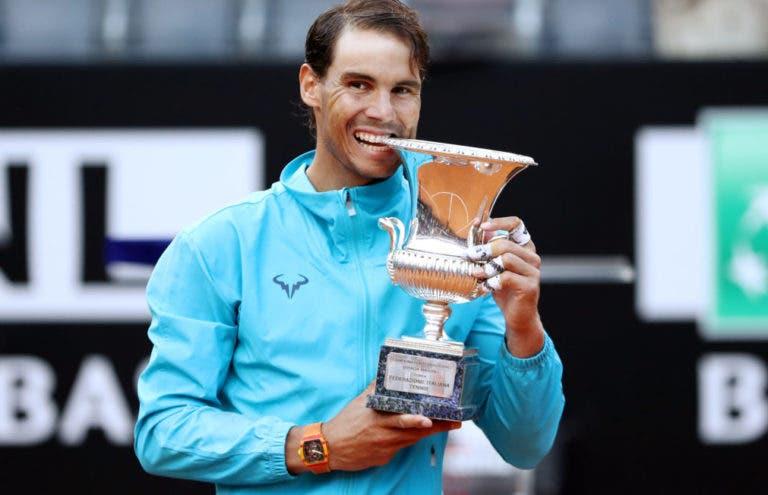 Nadal: «Andavam a perguntar por títulos… finalmente já tenho um»