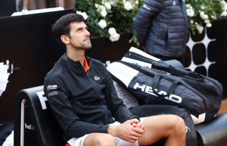 Djokovic deixa recado à organização de Roma: «A programação pode ser melhorada»