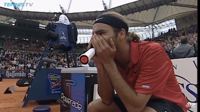 Há 17 (!) anos, Federer entrou no top 10 pela primeira vez