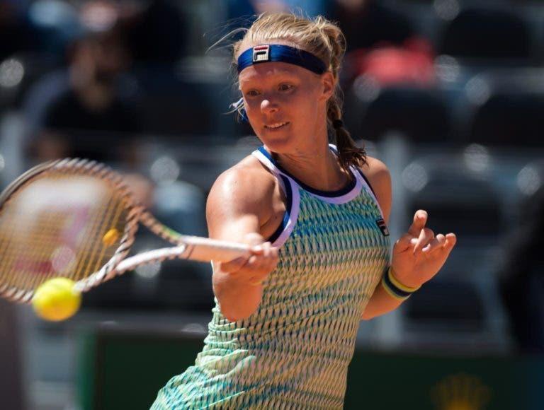 Kiki Bertens nas 'meias' de Pequim e cada vez mais perto das WTA Finals