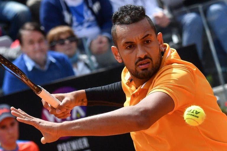 Kyrgios anúncia… desistência de Roland Garros já depois de conhecer o sorteio