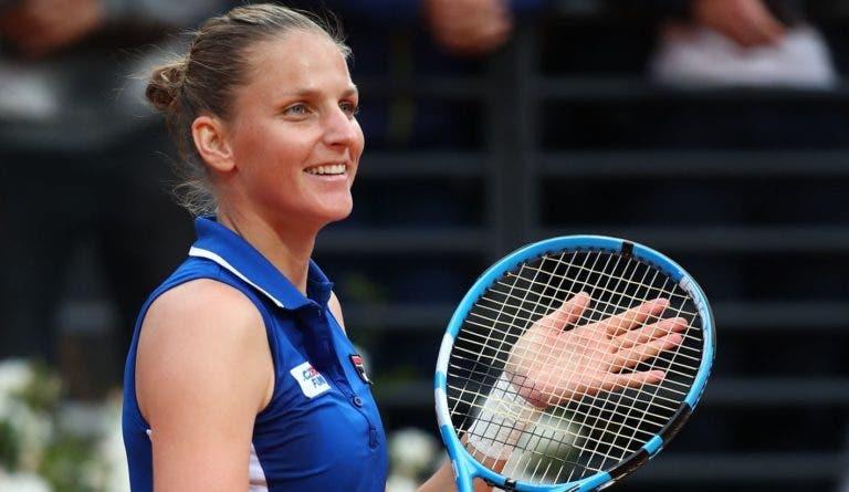 Karolina Pliskova é campeã em Roma e sobe a número 2 do Mundo