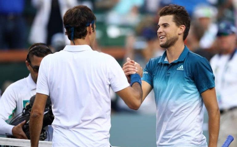 Thiem sobre o encontro com Federer: «Cada jogo contra ele é algo muito especial»