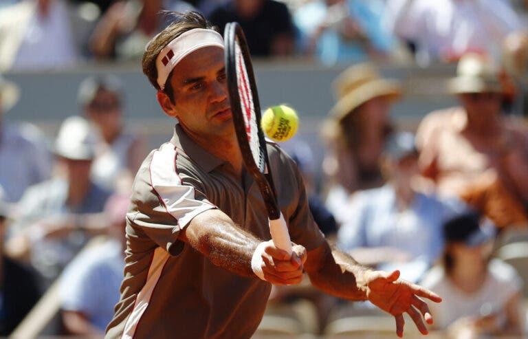 Federer compreende críticas à programação de Roland Garros: «Quando a vi fiquei surpreendido»