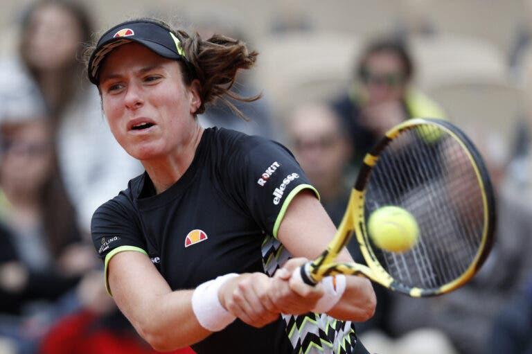 Konta queixa-se de falta de igualdade de géneros: «É triste que as mulheres tenham de jogar noutros courts»