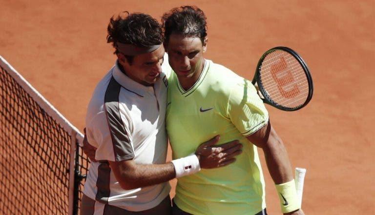 Federer recorda duelo com Nadal em Roland Garros e garante: «Não tem grande relevância para sexta-feira»