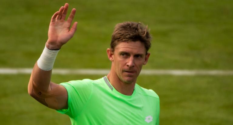 Três meses depois, Anderson voltou ao ténis com uma vitória