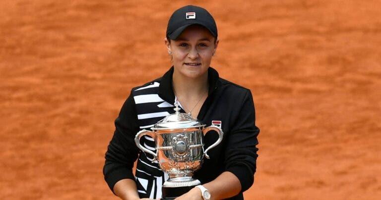 Barty arrasa, vence Roland Garros e conquista o PRIMEIRO Grand Slam em singulares da carreira