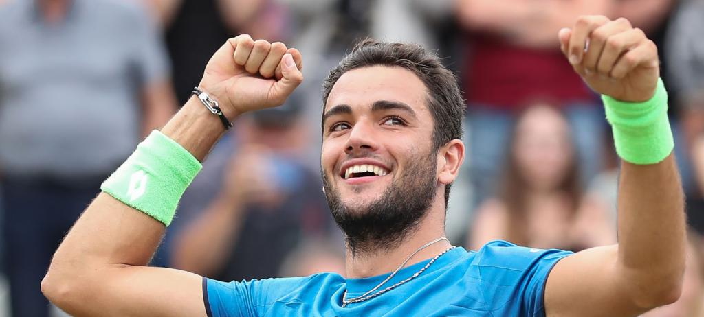Berrettini ganhou os seus últimos 12 sets sem sofrer breaks