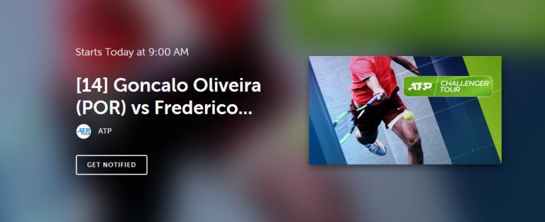 [VÍDEO] Bratislava. Frederico Silva vs. Gonçalo Oliveira, em DIRETO