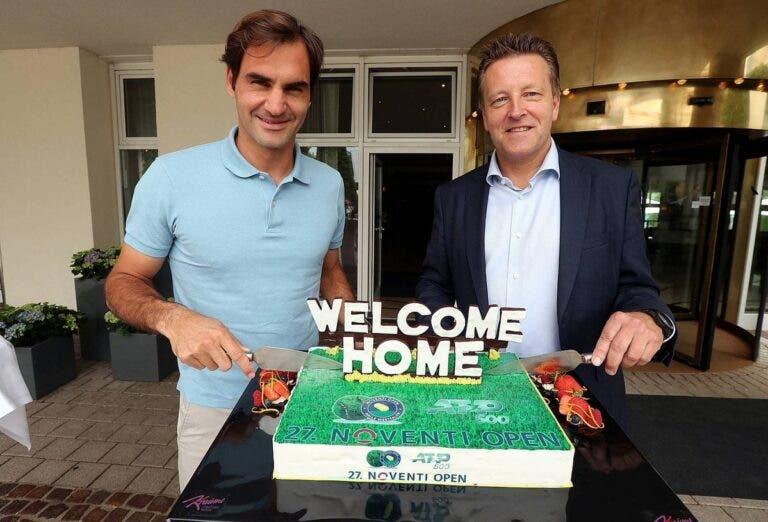Federer estreia-se em Halle com jogador que o derrotou no US Open