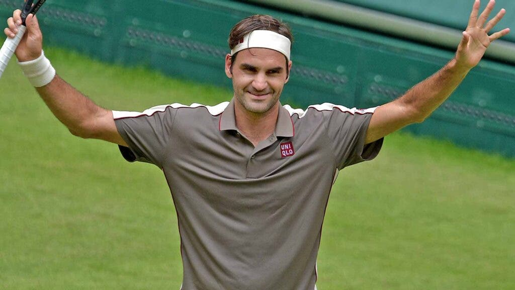 [VÍDEO] O momento em que Roger Federer triunfou em Halle pela décima vez na carreira