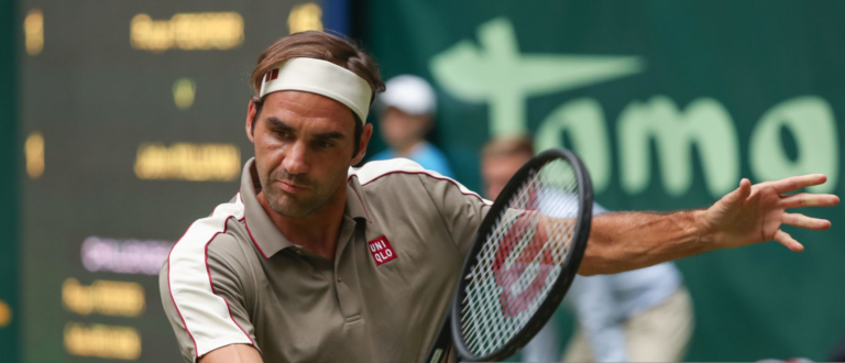 Federer sobre o encontro difícil com Tsonga: «Estava chateado porque não aguentei a vantagem»