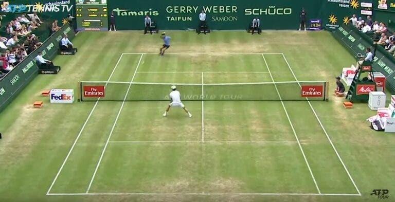 [VÍDEO] Os melhores pontos de Roger Federer em Halle