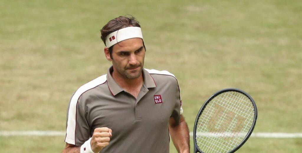 Federer: «Tenho um quadro difícil aqui em Halle»