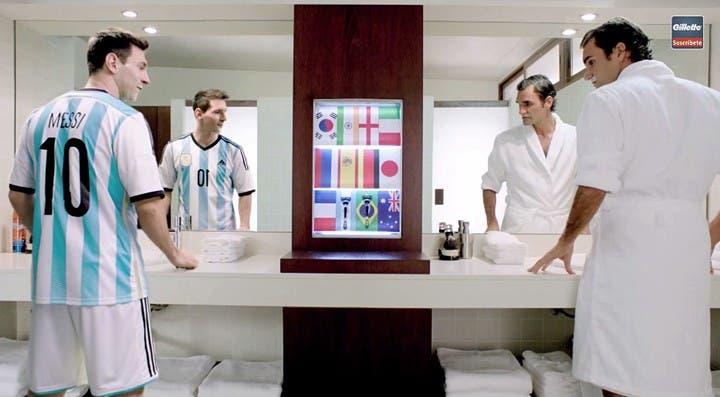 Roger Federer mostrou toda a sua admiração por… Lionel Messi