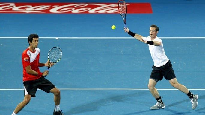 Andy Murray vai jogar em Eastbourne ao lado… de Marcelo Melo
