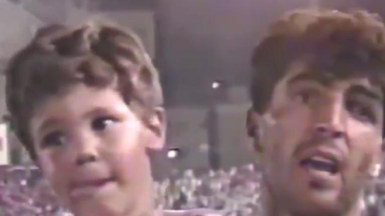 [VÍDEO] Aos três anos, Rafa Nadal já era 'estrela' de televisão