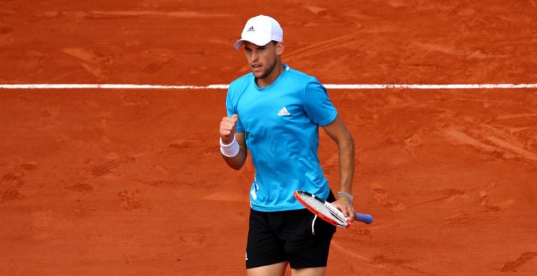 Thiem joga muito e está nas 'meias' de Roland Garros pelo 4.º ano seguido