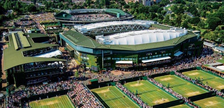 Wimbledon está atento aos efeitos do coronavírus e já pondera cancelar o torneio