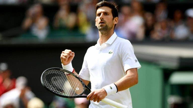 Djokovic acelera para a terceira ronda de Wimbledon