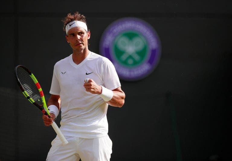 Nadal: «Não estive ao melhor nível contra Federer em Wimbledon»