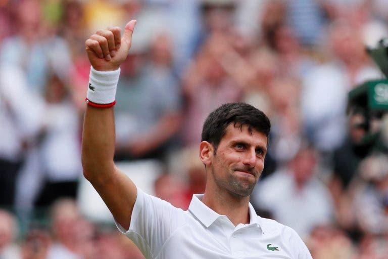 Djokovic fez aquilo que nunca ninguém conseguiu em finais de Grand Slam