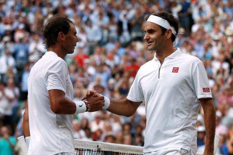 Federer: «Rafael Nadal e eu ajudamo-nos um ao outro»