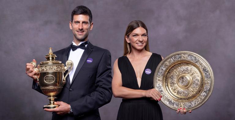 Não houve dança no baile em Wimbledon e Halep 'responsabiliza' Djokovic