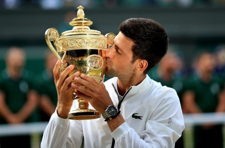 Djokovic: «Fazia os meus próprios troféus e sonhava em estar aqui um dia»