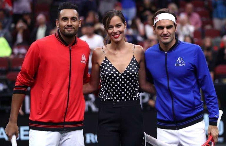 Kyrgios desafia Federer, Nadal ou Djokovic para um direto de Instagram