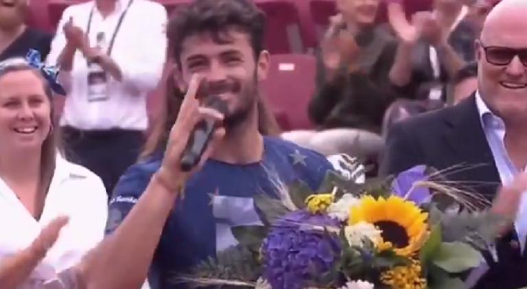 [VÍDEO] Londero sofreu com o inglês após ser 'vice' em Bastad e deixou espectadores rendidos