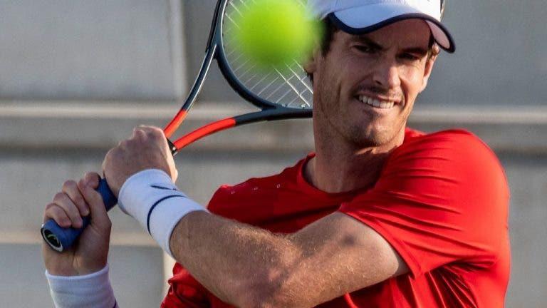 Murray: «Estou triste por Queen's e Wimbledon estarem cancelados»