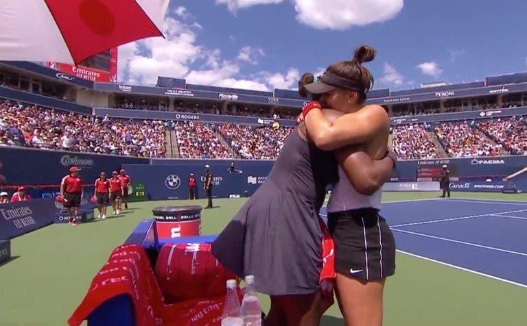 Serena desiste da final de Toronto ao fim de 15 minutos