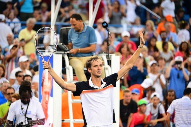 Imparável, Medvedev é campeão em Cincinnati