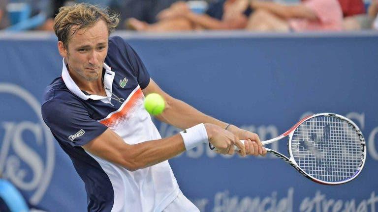 [VÍDEO] Medvedev fechou em grande a vitória frente a Djokovic em Cincinnati