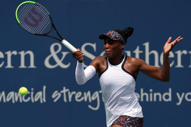 Cincinnati: siga Venus Williams vs Madison Keys no nosso live center