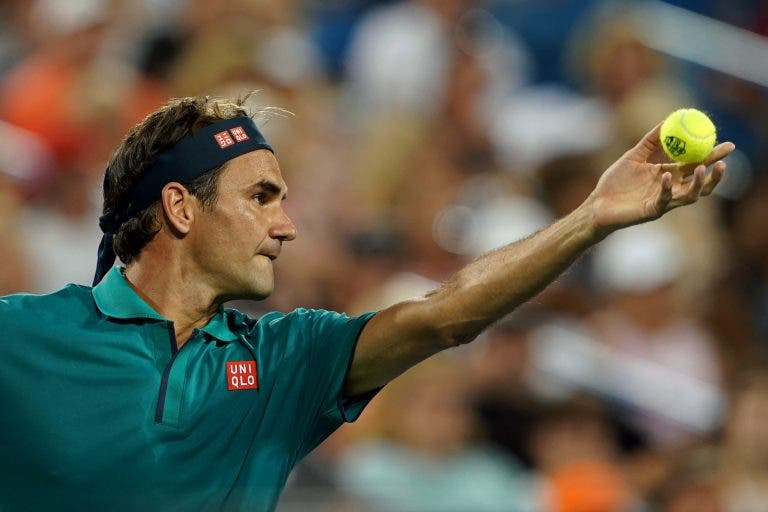 Federer sobre o US Open: «Não me vou colocar num favorito absoluto como em 2008»