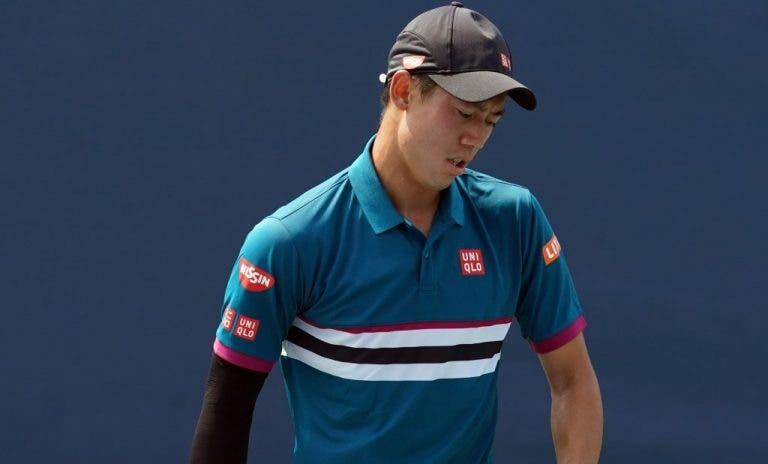 Nishikori desiste de Indian Wells e tem presença na Davis em risco