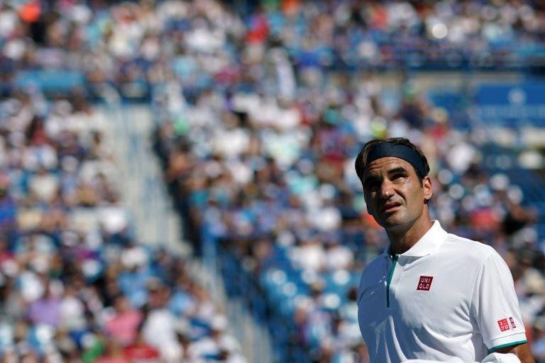 Federer sem dúvidas: «Estes courts de Cincinnati são mais rápidos que os de Wimbledon»