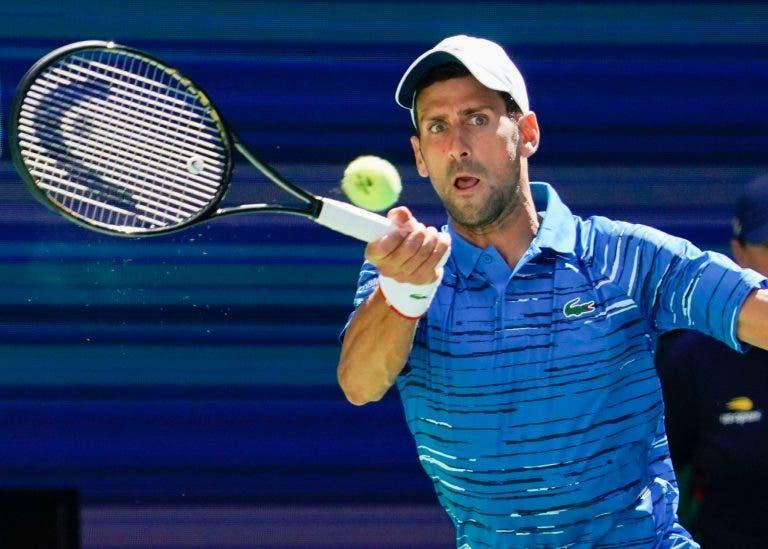 Djokovic está recetivo a jogar US Open, mas só com uma condição