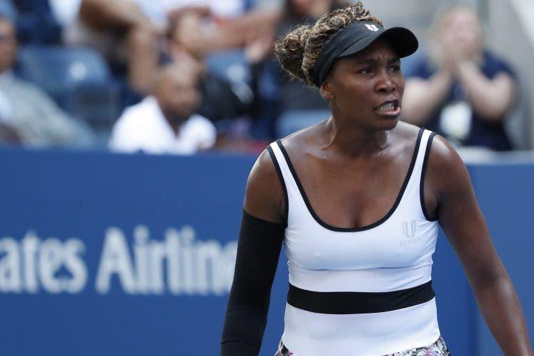 Venus Williams desperdiça sete match points e perde com miúda 20 anos mais nova em Acapulco