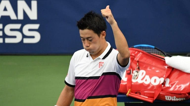Nishikori: «Neste momento, eu amo o ténis mais do que nunca»