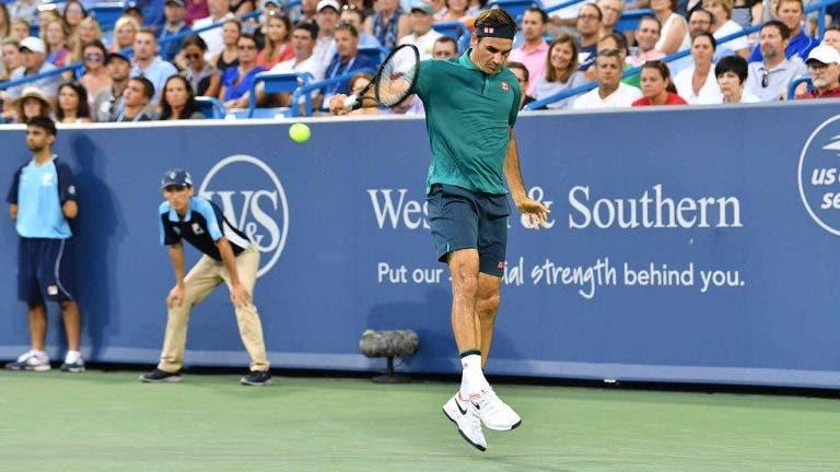 Federer vence em apenas 61 minutos o seu primeiro encontro com 38 anos