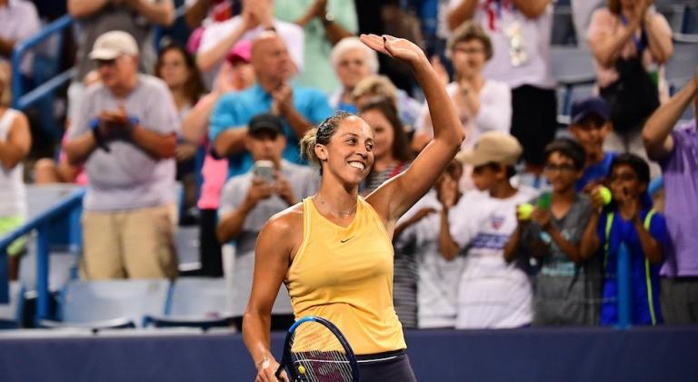 Madison Keys vence o maior título da sua vida em Cincinnati