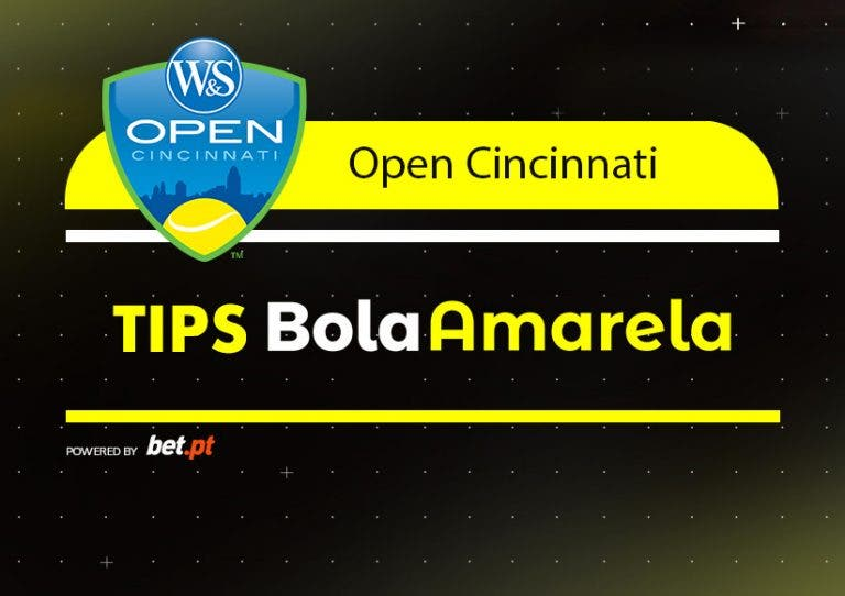 Apostas: Tips Cincinnati – Dia 7 | 18/08/2019