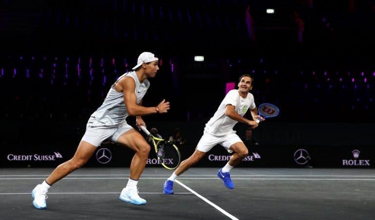 Federer: «Neste fim-de-semana vamos desfrutar da nossa paixão pelo ténis»