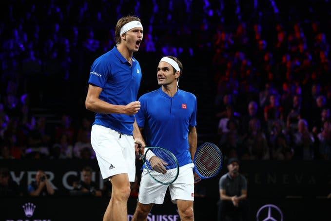 EUROPA 3-1 MUNDO: Federer/Zverev arrasam Shapovalov/Sock
