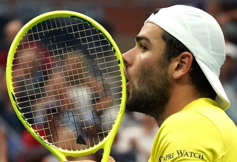 Berrettini: «Falei com Djokovic e não vou dar dinheiro ao fundo de ajuda»